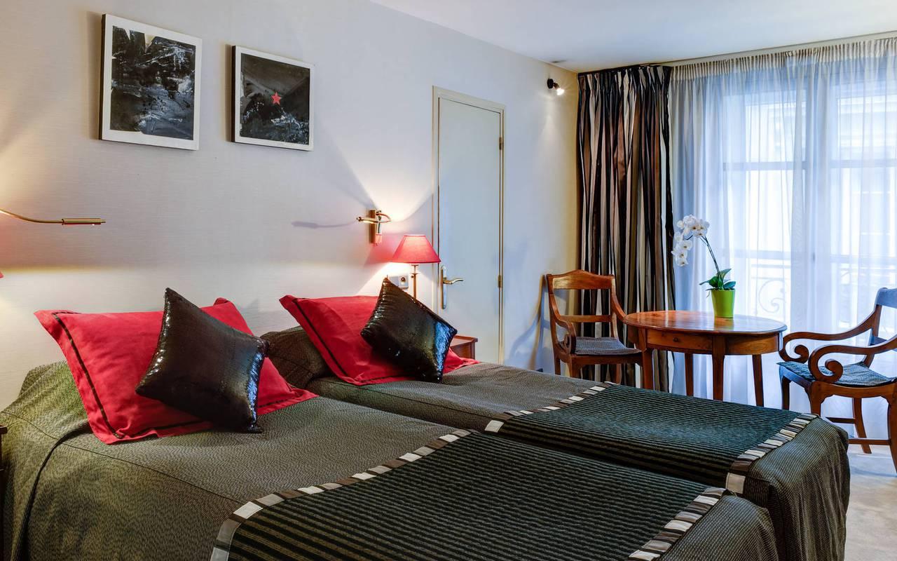 Charming hotel at Saint-Germain des Prés