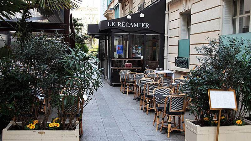 Recamier restaurant Paris