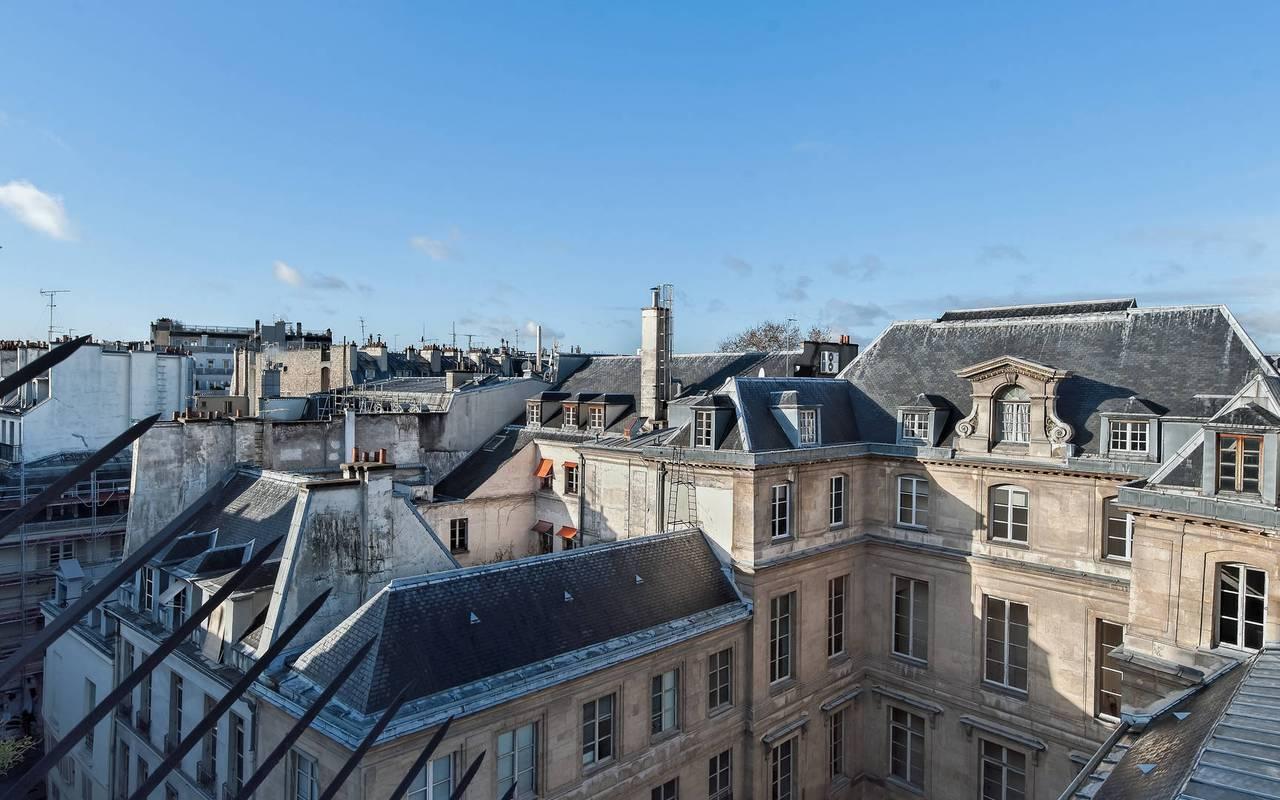 Romantique vue de Paris à Saint-Germain-des-Prés