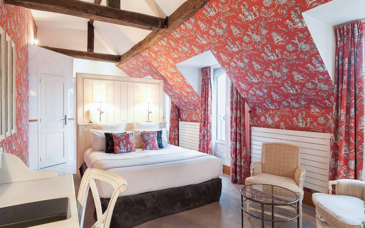 Suite romantique dans un hôtel à Saint-Germain-des-Prés