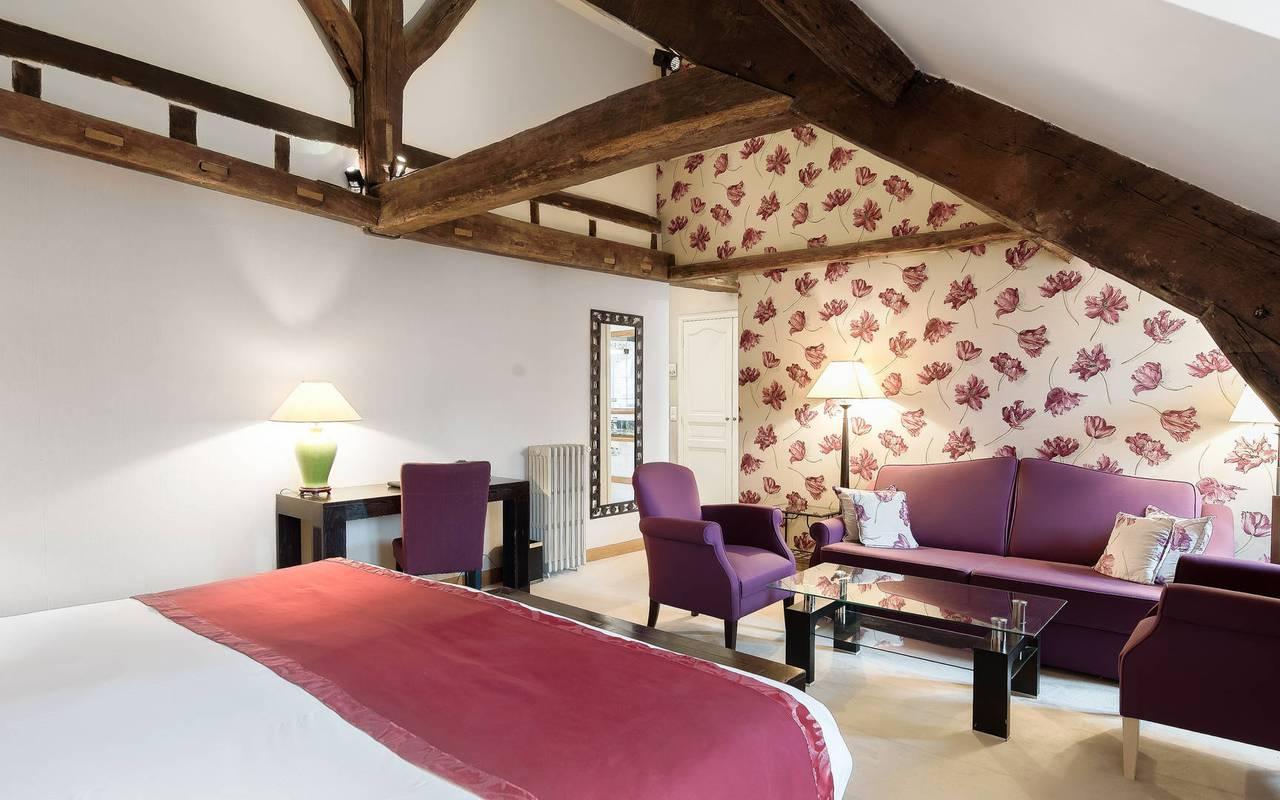 Grande et luxueuse chambre à Saint-Germain-des-Prés