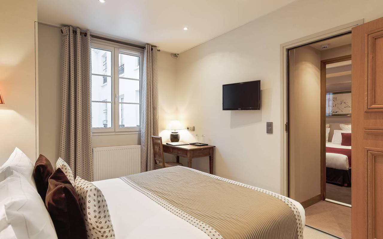 Chambre familiale hôtel de luxe Paris 6