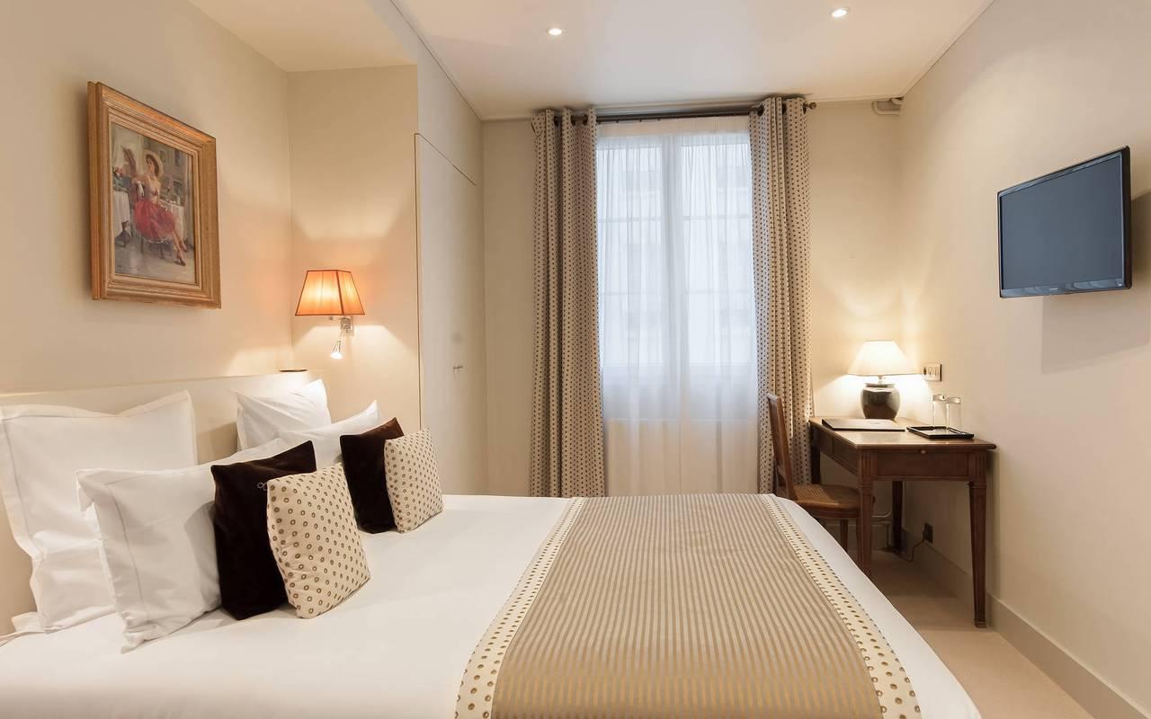 Séduisante chambre hôtel Saint-Germain-des-Prés