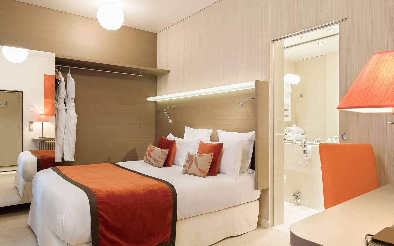 Chambre luxueuse et confortable à Saint-Germain-des-Prés