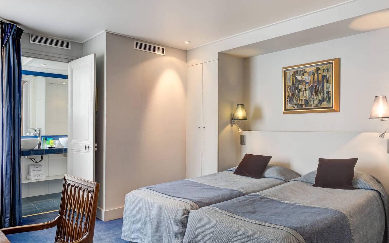 Authentique hôtel de charme à Saint Germain des Prés