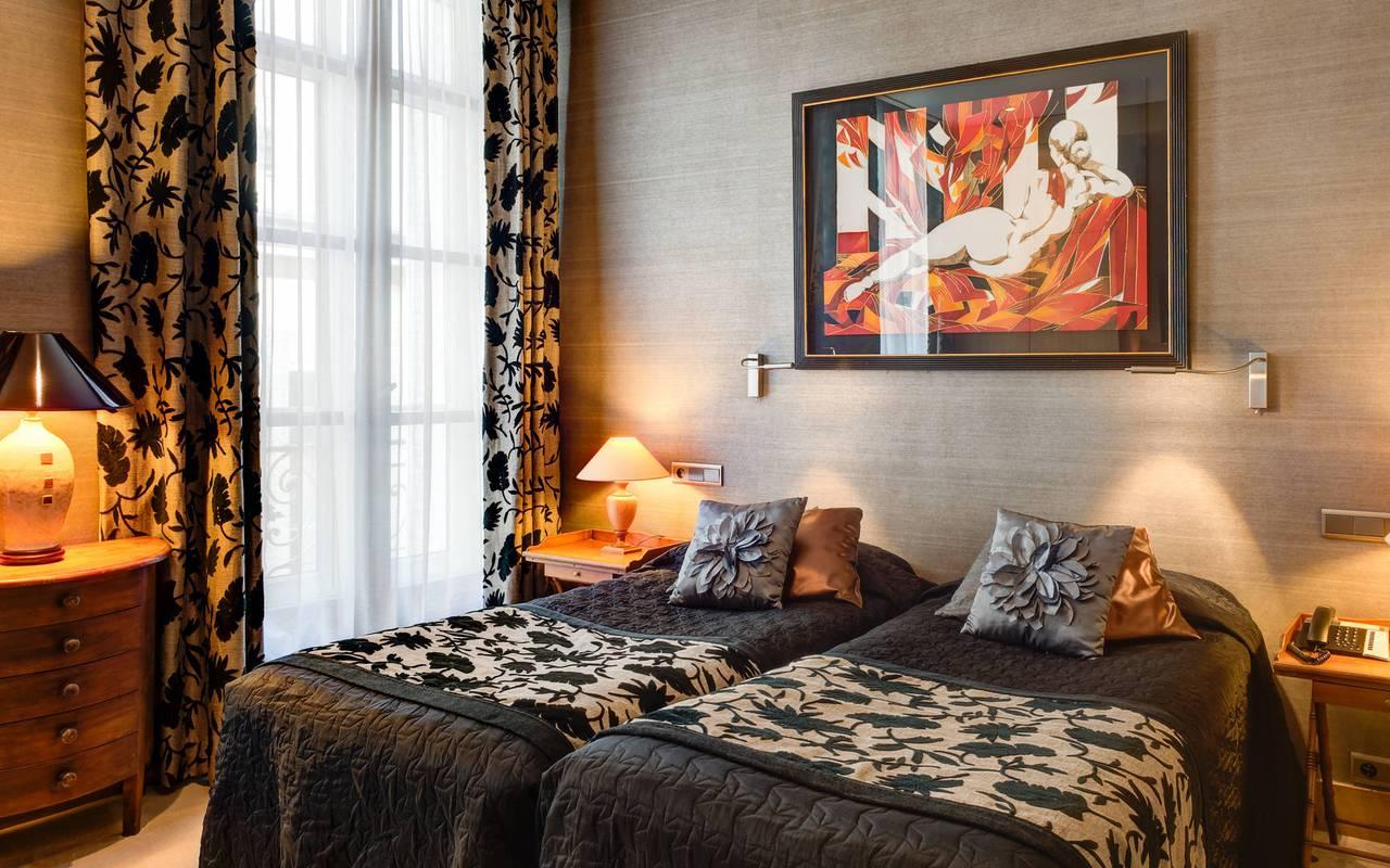 Somptueuse chambre à Saint-Germain-des-Prés