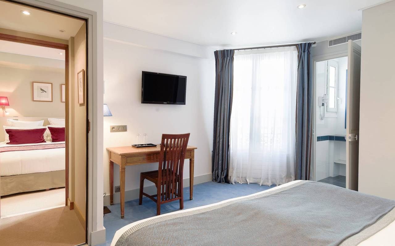 hotel pas de calais parigi le nostre camere. Black Bedroom Furniture Sets. Home Design Ideas